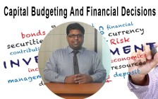 Capital Budgeting And Financial Decisions